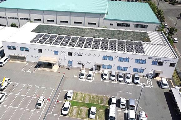 本社・神戸技術センター上空画像