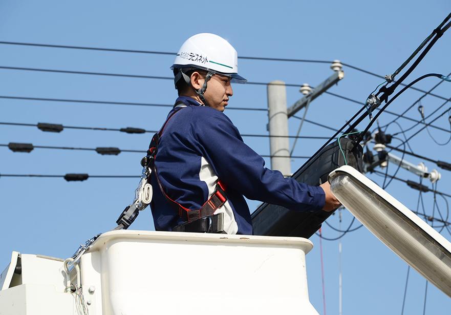通信設備事業のイメージエリア