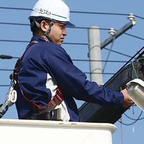 通信設備事業の画像